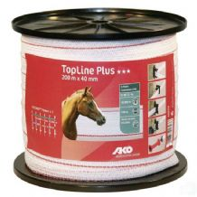 Fencing tape TopLine+ 40mm
